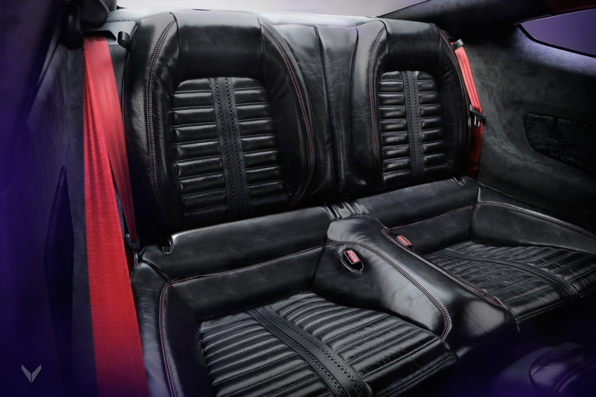 Ford mustang gt with seats wrapped in genuine mustang leather a project by vilner beijing
