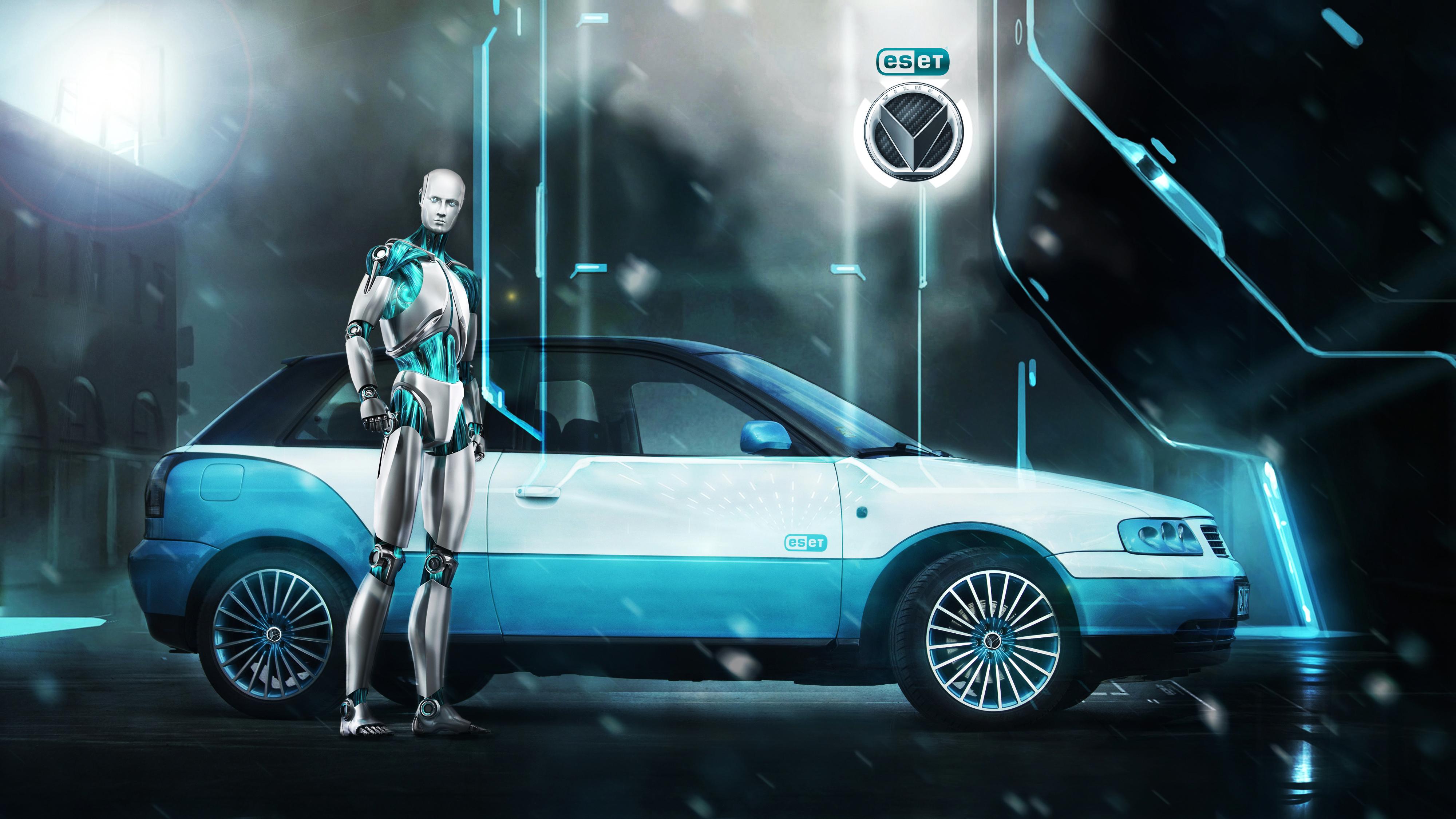 Vilner - Vilner Gives a Nod32 to ESET with Promotional Audi A3